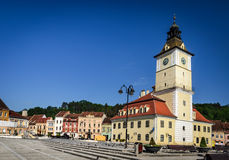 Brasov, medieval, Council Square, Romania Stock Photography