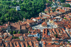 Brasov, medieval downtown, Romania Stock Photo