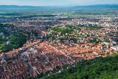 Brasov, medieval downtown, Romania Stock Photography