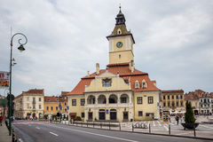 Brasov-Mitte Lizenzfreies Stockfoto