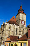 Brasov, gothic Black Church Stock Images