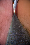 Brasov - Narrow Street Royalty Free Stock Photography