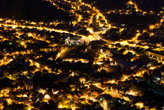 Brasov-night view Royalty Free Stock Image