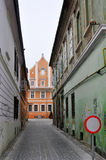 Brasov old buildings Royalty Free Stock Photography