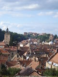 Brasov old center overview Royalty Free Stock Images