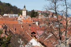 Brasov old city Stock Photography