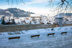 Brasov old city Royalty Free Stock Images