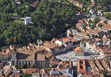 Brasov old town Royalty Free Stock Photo