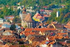 Brasov Old Town skyline. Romania Stock Image