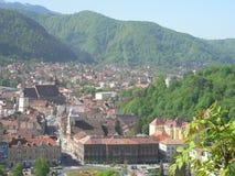 Brasov omr?de Transylvania, Rum?nien, Europa arkivbilder