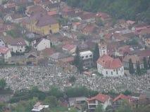 Brasov omr?de Transylvania, Rum?nien, Europa royaltyfria foton