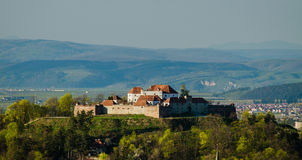 Brasov overview royalty free stock photos