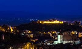Brasov overview Stock Photo