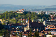 Brasov overview Royalty Free Stock Photography