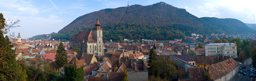 Brasov panorama Royalty Free Stock Photos