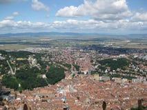 brasov-panorama Stock Photo