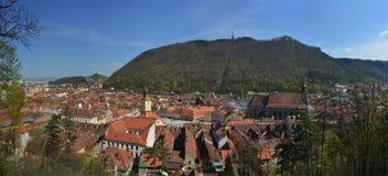 Brasov - panorama Stock Images