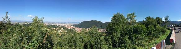 Brasov panorama royalty free stock photos