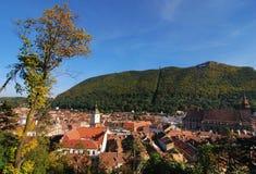 Brasov panorama / Romania stock image