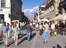Brasov pendant l'été Photographie stock libre de droits