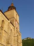 Brasov, Romênia - a igreja preta Fotografia de Stock Royalty Free
