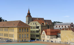 Brasov in romania Royalty Free Stock Photography
