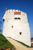 brasov Romania basztowy biel Zdjęcie Royalty Free