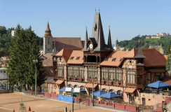 Brasov in romania Royalty Free Stock Images