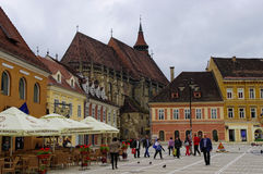 BRASOV, ROMANIA - JUNE 18, 2014 Stock Photos