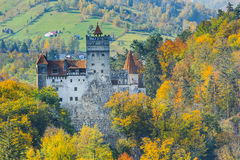 Brasov, Romania. The medieval Castle of Bran, known for the myth of Dracula. Transylvania, Romania Stock Image