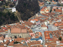 Brasov, Roumanie Images libres de droits