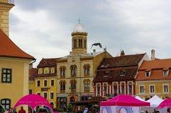 BRASOV RUMÄNIEN - JUNI 18, 2014 Royaltyfri Fotografi
