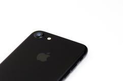BRASOV, RUMÄNIEN - 25. November 2016: iPhone 7 schwarzes Mattdetail Stockfoto