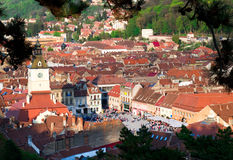 Brasov, Rumänien Stockbild
