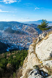 Brasov's Schei seen from Tampa Stock Images