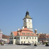 Brasov, Sfatului Square Royalty Free Stock Photography