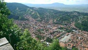 Brasov stad Royaltyfri Fotografi