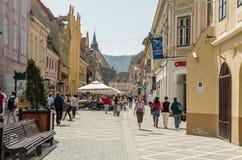 Brasov-Stadt Lizenzfreies Stockfoto