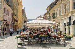 Brasov-Stadt Stockfotografie