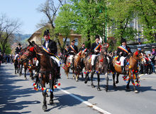 Brasov Stadt-Feiertage (Rumänien) Stockbild