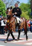 Brasov Stadt-Tage und Juni Parade (26. April 2009) Stockbilder