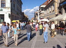 Brasov in the Summer Royalty Free Stock Photography