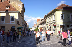 Brasov in the Summer Stock Images