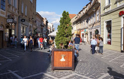 Brasov in the Summer Stock Photo