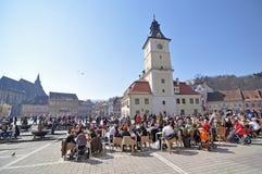 Brasov sunday stock photo