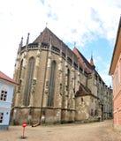 Brasov svart kyrka Royaltyfri Bild