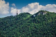 Brasov Tampa berg, Rumänien Royaltyfri Bild