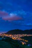 Brasov and Tampa mountain, Romania stock photos