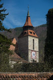 Brasov - tower with clock Royalty Free Stock Photography