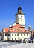 Brasov Town hall. Town hall on Piata Sfatului, Brasov, Romania Royalty Free Stock Photography